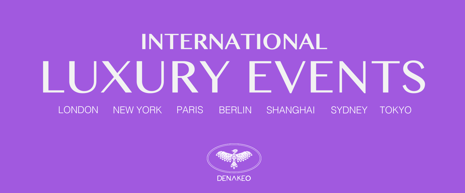 International luxury events B